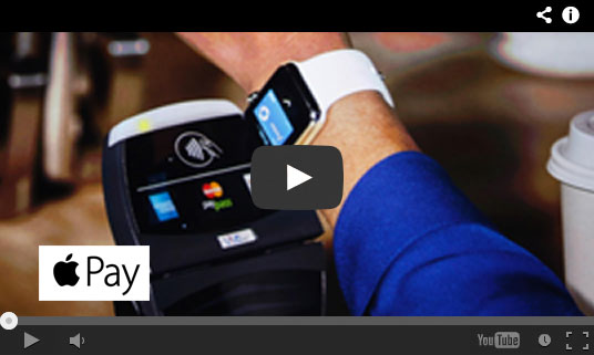 Play the Apple Pay video